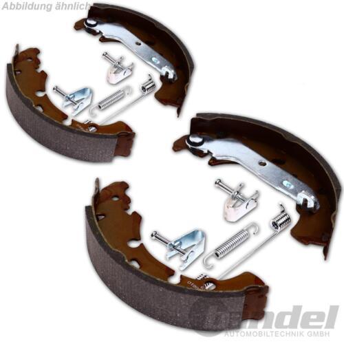 Bremsbackensatz freno de tambor accesorios Dacia Duster trommelbremsbacken pastillas de freno