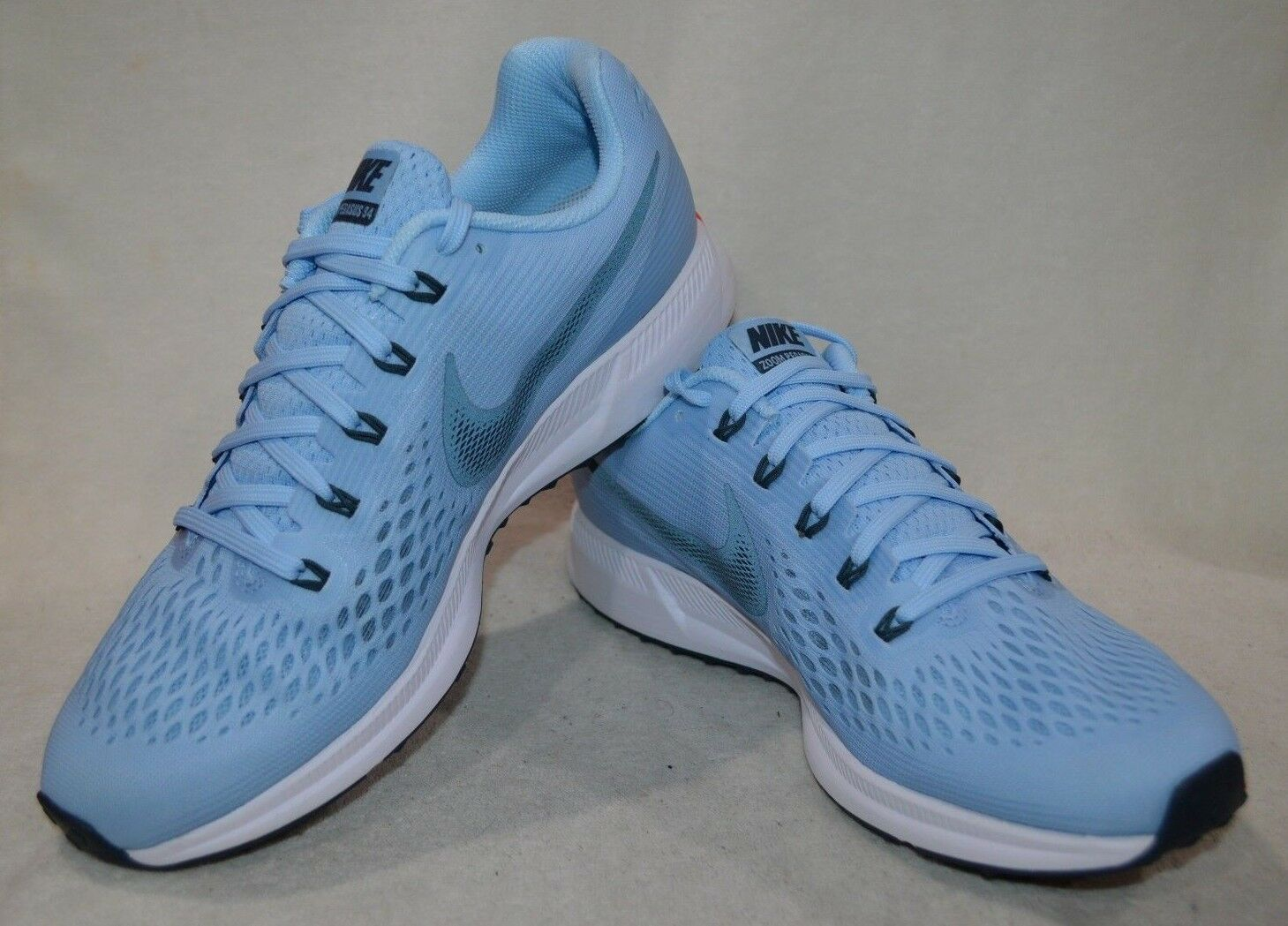 Nike Air Zoom Pegasus 34 Ice blu blu blu blu Fox Uomo Running scarpe-Dimensione 12 13 NWOB c4750c