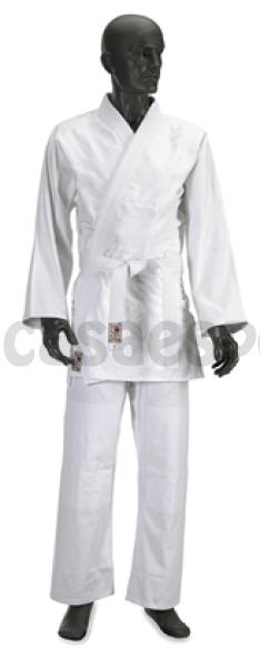 Judogi 05 180 cm cotone candeggiato CORSPORT arti marziali kimono judo karate