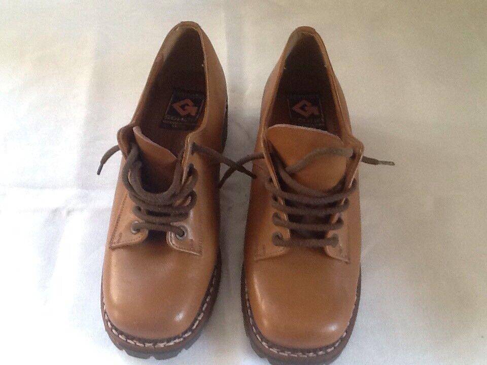 Palons Damen Trachtenschuhe Trachtenschuhe Trachtenschuhe Schuhe Gr. 5 1/2  38,5 Gr. 39  Made In Italy Vintage 197126
