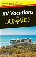 Rv Vacations For Dummies By Shirley Slater, (paperback), For Dummies , New, Free on sale