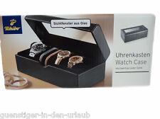 TCM Tchibo Uhrenkasten Uhrenbox Uhrenaufbewahrung Uhrentruhe Box NEU