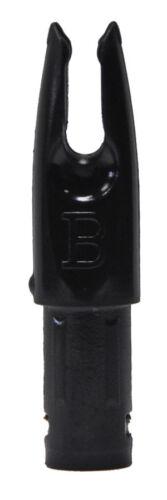 50 Pack Black Bohning Signature Nocks Fits Gold Tip Pro Hunter XT Hunter Falcon