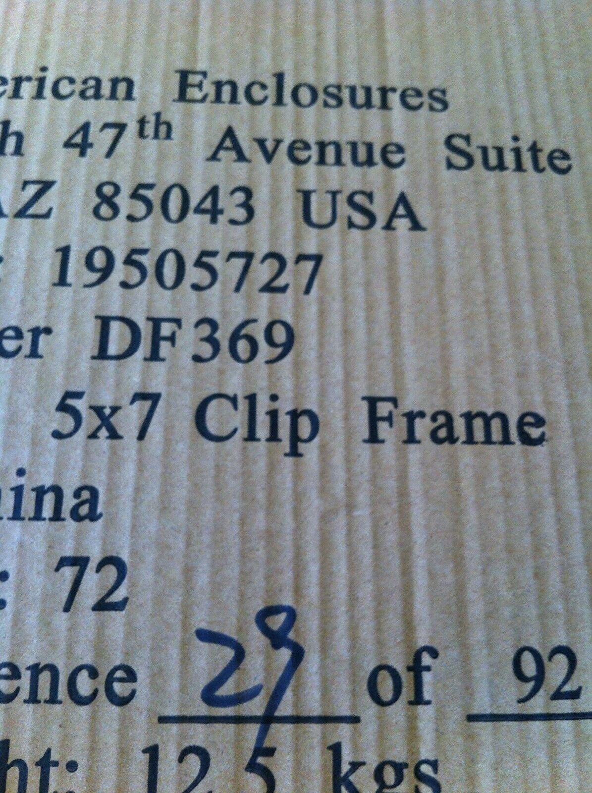 """Set of 2 5x7/"""" Chrome Clip Wall Picture Frame FREE PRIORITY Frameless Glass Photo"""