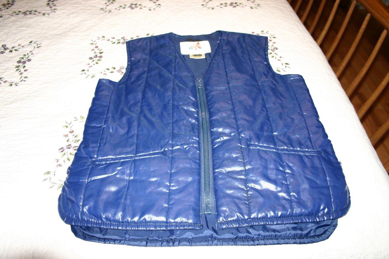 Women's Lavenir England Riding Equestrian Horse Nylon bluee Vest size 38