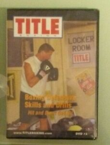Details about TITLE BOXING DEFENSIVE SKILLS AND DRILLS DVD NEW