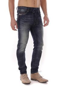 Diesel-Narrot-NE-0600S-Herren-Sweat-Jeans-Hose-Slim-Carrot