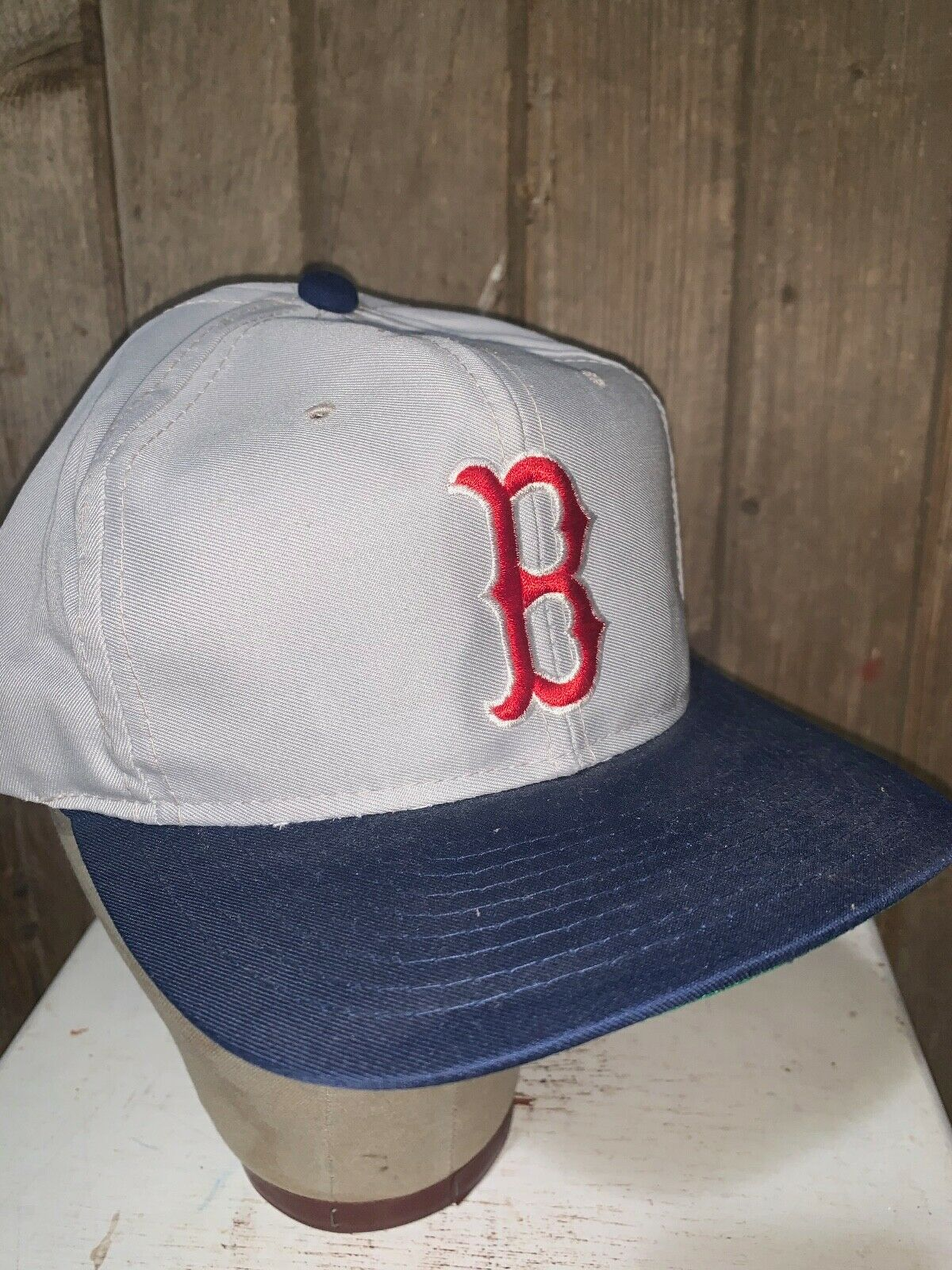 VINTAGE 80s/90s Boston Red Sox MLB Grosscap Brand… - image 7