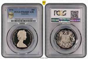 1976-AUSTRALIA-50-CENTS-PCGS-PR68DCAM-PROOF-COIN-IN-HIGH-GRADE