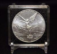 6 Mexican Libertad 2x2 Coin Snaplock Capsule Quadrum Intercept 41mm Case