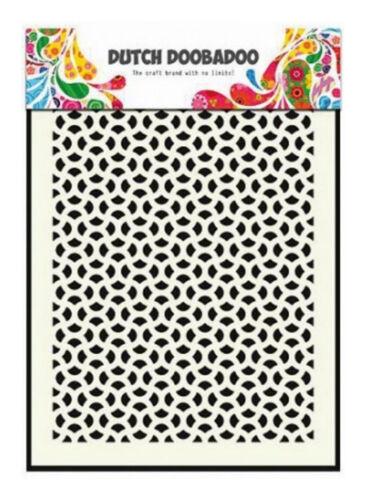 Papier 19-32 A5 Schablone DUTCH DOOBADOO Hintergrund MASK ART STENCIL Textil