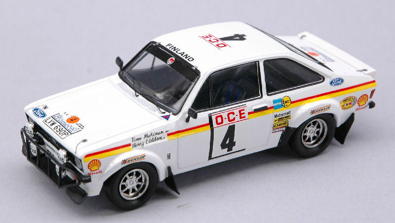 Ford Escort Mk II  4 Marocco 1976 1 43 Model TROFEU