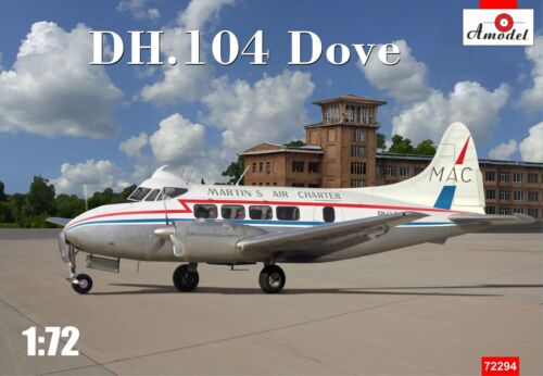Amodel 1//72 DH-104 Dove /'Martin/'s Air Charter/' # 72294