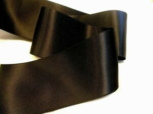 2-3-4-034-WIDE-SWISS-DOUBLE-FACE-SATIN-RIBBON-BLACK-BY-THE-YARD