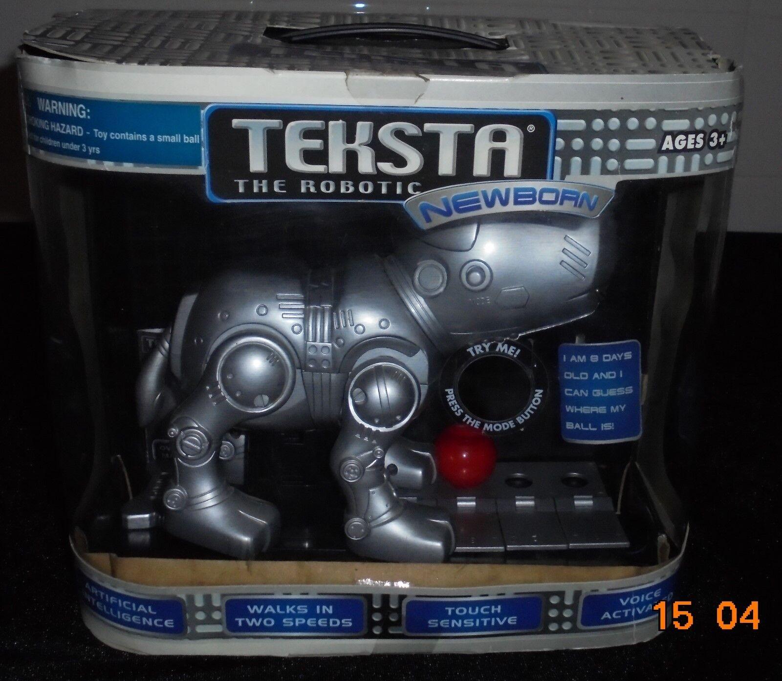 TEKSTA THE ROBOTIC NEWBORN PUPPY