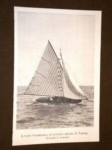 Lo-yacht-Lohengrin-nel-1897-Di-proprieta-dell-039-Ingegnere-F-Tassara