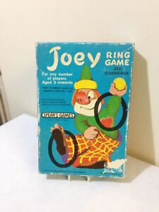 VINTAGE 1975 SPEARS Joey RING GAME Clown Hoop Gettando Festa Di Famiglia Divertente Retrò