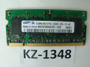 Samsung-512MB-PC5300S-M470T6554CZ3-CE6-So-Dimm-8CHIP-KZ-1348