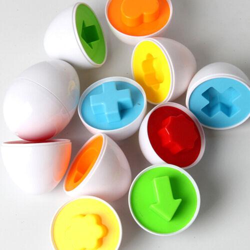 Baby Kids Funny Simulation Eggs Puzzle Learning Development Educational Toys  Kj