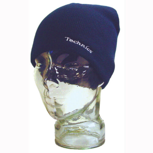 a99726660 Details about Technics Headwear Beenie/Beanie Hat (Navy Blue /Blue) T057  One Size! New