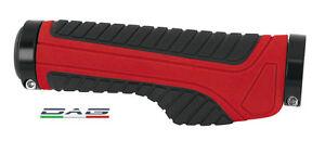 Force-Coppia-Manopole-Ergonomica-MTB-Wide-con-blocco-Red-Black