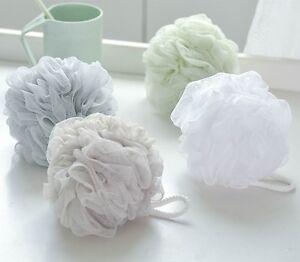 Large Scrubber Sponge Flower Exfoliating Body Brush Puff Bath Shower