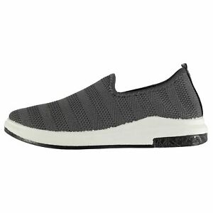 Tapout-Mens-Slip-On-Trainers-Sports-Shoes-Breathable-Lightweight-Mesh-Upper