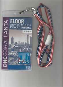 House-of-Cards-Screen-Used-Prop-2016-DNC-Vip-Floor-Pass-W-Lanyard