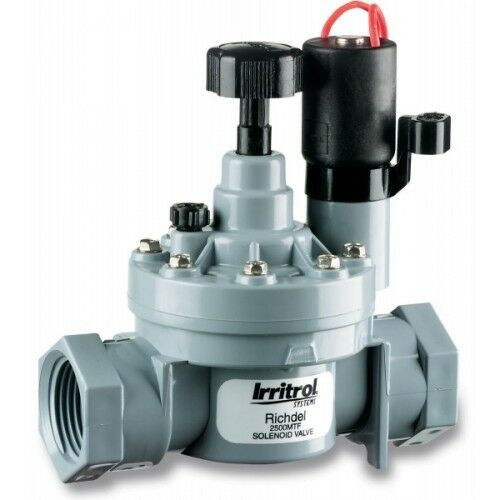 Irritrol RICHDEL-2500 SOLENOID VALVE 25mm*USA Brand-With Or Without Flow Control