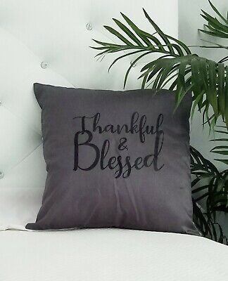 """ENCHANTE Oblong BEIGE WHITE Leaf NAVY BLESSED Decorative THROW PILLOW 14/"""" x 22/"""""""