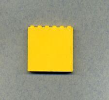 2 x Lego System Wand Panele rot 1x6x5 Mauer Feuerwehr Wandelement 4188910 3754
