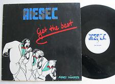 """12"""" MAXI - AIESEC - Get The Best - Wolfgang Schmitke - Ralf Nachtigal"""