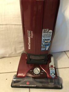 Hoover WindTunnel MAX Bagged Corded Upright Vacuum Cleaner UH30600