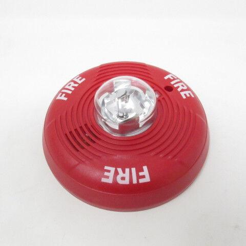 System Sensor PC2R SpectrAlert Advance Fire Alarm Horn//Strobe Ceiling Red