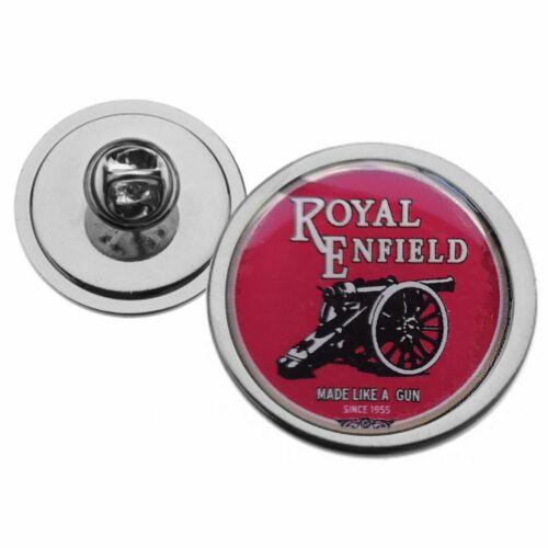 Royal Enfield Moto Rojo con logotipo de metal Corbata Pin