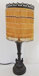 Lighting Beaded Accent Table Lamp Br
