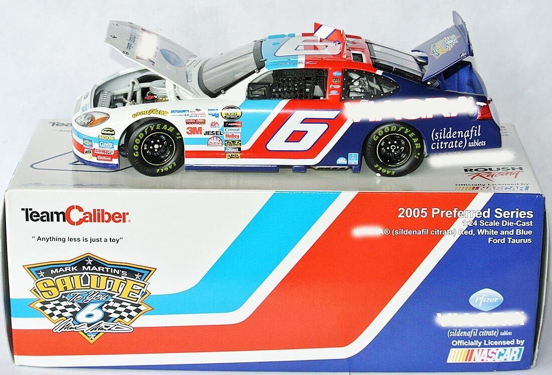 Preferrosso RFR ford NASCAR 2005  V  G  a Salute  Mark Martin - 1 24 Lim.