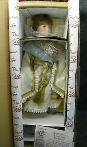 Anastasia-Porcelain-Doll-By-Paul-Crees-amp-Peter-Coe-w-Box-and-COA-NRFB