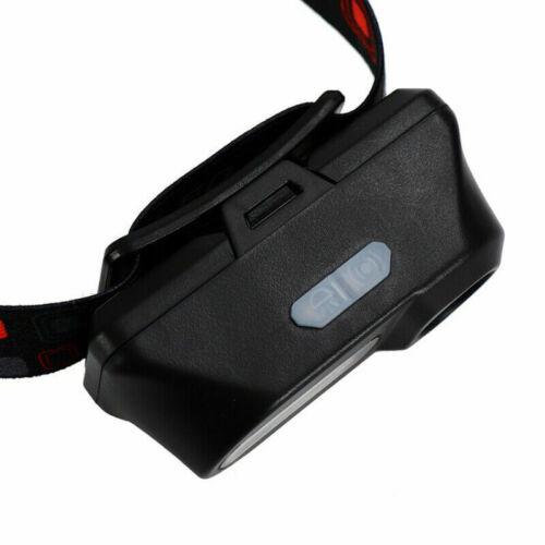 COB LED Stirnlampe Taschenlampe Kopflamp Stirnleuchte Outdoor Licht Headlight ju