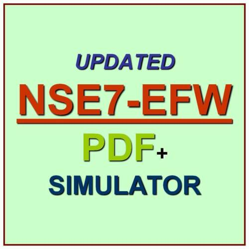 Fortinet NSE7 Enterprise Firewall FortiOS 5.4 Test NSE7/_EFW Exam QA PDF+SIM