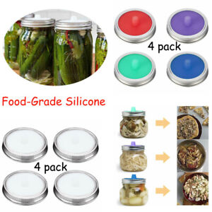 4pcs-Airlock-Fermentation-Lids-for-Wide-Mouth-Mason-Jar-amp-4X-Stainless-Steel-Bands