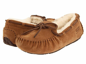 19b633d1d21 Kids UGG Australia Dakota Slipper 5296 Chestnut Suede 100% Authentic ...