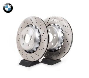 Original BMW M2 F87 M3 F80 M4 F82/F83 Bremsscheiben vorne 34112284809 + 2284810