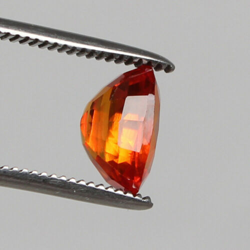 Ceylon Corundum Finest Square Cut Loose Gemstone Padparadscha Sapphire 7.70 Ct