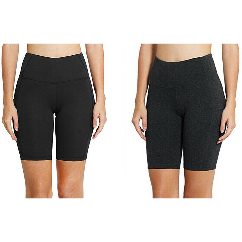 4X(Hohe TaillenelastizitäT Yoga-Shorts Sport-Leggings Workout-Leggings für 4M9)