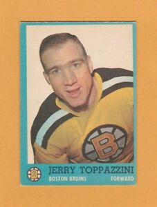 1962-63-NHL-Topps-13-Jerry-Toppazzini-Ex