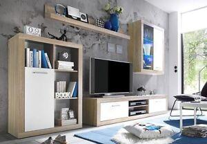 MERO - Mobile soggiorno in imitazione di quercia Sonoma chiaro ...