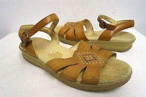 SAS-TriPad-Comfort-brown-low-wedge-sandals-platform-comfort-shoes-7N-womens-210