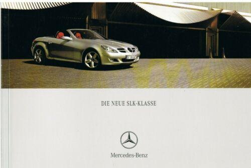 Prospekt Mercedes SLK-Klasse R 171 10//04 2004