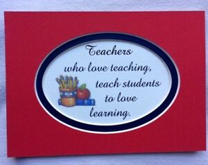 Details About Teachers School Love Teaching Children Learning Students Verses Poems Plaques